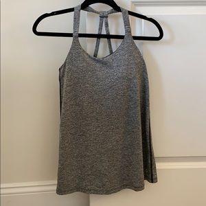 Gap fit grey workout tank top